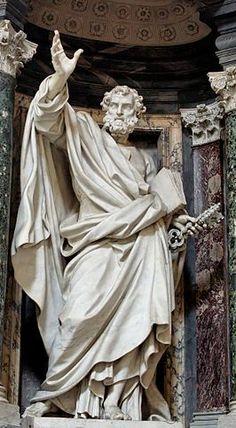 Pierre-Étienne Monnot (1657-1733) was een Franse beeldhouwer, die zich in 1687 in Rome vestigde voor de rest van zijn leven. Hij was een vooraanstaand kunstenaar van de laat-barok. St. Peter, Basilica of St. John Lateran