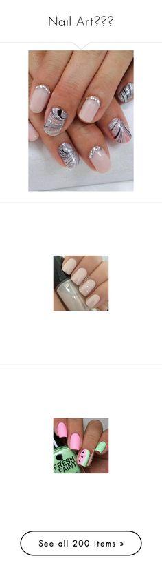 """Nail Art🎨💅🏼"" by moon-crystal-wolf ❤ liked on Polyvore featuring beauty products, nail care, nails, nail treatments, nail polish, shiny nail polish, makeup, beauty, unhas and pictures"