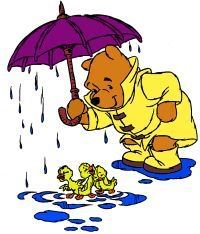 Pooh with Ducks