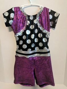 Acro Costume - One Piece Acro Dance, Jazz Costumes, Stretchy Material, Costume Design, Super Cute, One Piece, Brand New, Blouse, Stuff To Buy