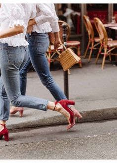 Parisian chic heels