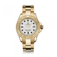 #Rolex http://www.laingsuk.com/ladies-watches-c40/pre-owned-watches-c412/rolex-watches-c485/ladies-rolex-yachtmaster-oyster-perpetual-18ct-yellow-gold-watch-p6830