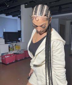 Black Girl Braids, Braided Hairstyles For Black Women, Braids For Black Hair, Girls Braids, Black Hairstyles, Braids Hairstyles Pictures, African Braids Hairstyles, Baddie Hairstyles, Protective Hairstyles