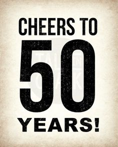 This 50th birthday sign pack includes four 8x10 digital signs. These funny, light-hearted signs make great party decorations for any 50th birthday party. After printed, they can be framed and displayed on tables or simply hung up on the walls. These signs are a great complement to my newspaper style Back In 1967, 50th birthday posters. https://www.etsy.com/listing/493380885/back-in-1967-newspaper-style-poster-50th?ga_search_query=50th&ref=shop_items_sear...