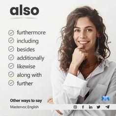 English Sentences, English Idioms, English Phrases, Learn English Words, English Lessons, English Grammar, English Tips, Essay Writing Skills, English Writing Skills