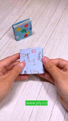 Origami kids book Cool Paper Crafts, Paper Crafts Origami, Fun Crafts, Diy Origami Books, Creative Crafts, Diy Paper, Diy Crafts Hacks, Diy Home Crafts, Diy Arts And Crafts