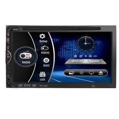 Luxury Car Worlds 7 HD 2DIN Car Bluetooth Touchscreen CD DVD Player Stereo MP3 AUX FM Radio USB SD