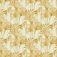 gold palm wallpaper - Google Search