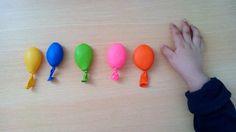 Balões sensoriais (texturas - detergente da loiça, algodão, farinha, arroz e açúcar): Estimulação sensorial (tátil) da mão direita em caso de hemiparesia à direita