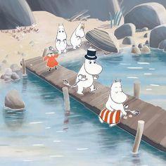 Moomin Cartoon, Moomin Wallpaper, Moomin Valley, Tove Jansson, Cartoon Movies, Vintage Cartoon, Studio Ghibli, Troll, Coloring Books
