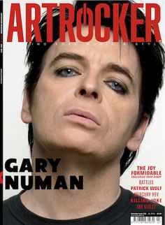 Gary Numan, one of the most dramatic shifts in composing style, and it only gets better. Gary Numan, Only Getting Better, The Mighty Boosh, Autograph Books, Music Magazines, Light Of My Life, The Hard Way, Music Icon, Post Punk