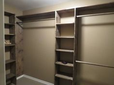 long narrow closet ideas - Google Search