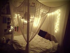 awesome Bed Canopy With Lights