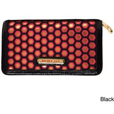 Nicole Lee 'Valeria' Embriodered Cut-out Wallet $31