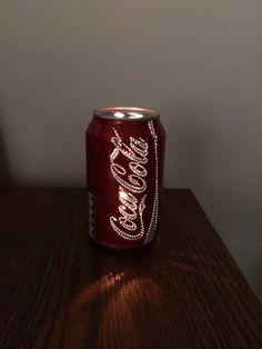 Cute and simple DIY Coca Cola Tea Lamp