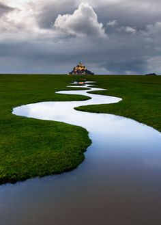 wanderthewood: Mont Saint-Michel, Normandy, France by Lollivier...