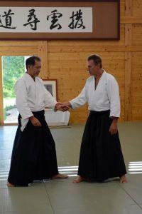 Aikido Lehrgang des österreichischen Aikidoverbands im Budokan Wels, Oktober 2013 - Gyaku Hamni Katate dori