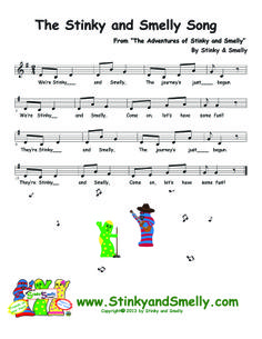 Adventures of Stinky and Smelly & Friends!  Family fun series of children's books, each come with two character socks.  Find Coloring Pages, Games & Songs at www.stinkyandsmelly.com