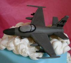 F16 in the clouds...hmmm
