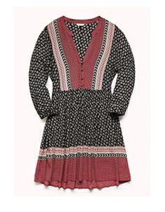 Forever 21 Boho Darling Peasant Dress #Refinery29