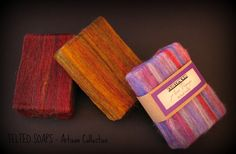 Artisan Collection Felted Soap