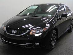 Honda Civic Sedan 2015 Black Just got this car 6/3/2015