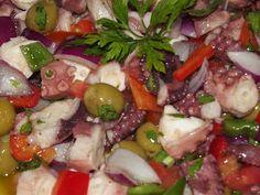 """Cocina """"Los Tres Meros"""": Salpicón de pulpo"""