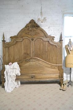 Painted Cottage Shabby Chic French Bed Queen / King