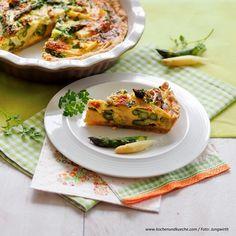 Spargel-Quiche » Kochrezepte von Kochen & Küche Sauce Hollandaise, Tacos, Mexican, Ethnic Recipes, Food, Best Asparagus Recipe, Easy Meals, Chef Recipes, Food Food