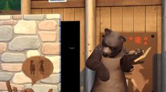 New party member! Tags: help bear gross toilet woods camping bees sims the sims swat sim flies ts4 ts3 ts2 grizzly simmer ts1 simming smelly flail