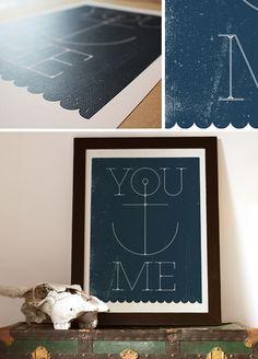 You Anchor Me - blackliststudioprints.com