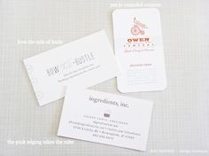 SHE PAPERIE + design boutique: Business Cards Collected At ALT