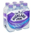 Highland Spring spring water still