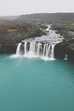 Places and water waterfall beautiful views i need to be here and swim Places Around The World, Oh The Places You'll Go, Places To Travel, Places To Visit, Around The Worlds, Iceland Photos, Les Cascades, Beautiful Waterfalls, Iceland Travel