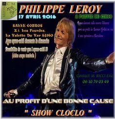 PHILIPPE LEROY SOSIE CLAUDE FRANCOIS POUR UNE CAUSE VAR 83