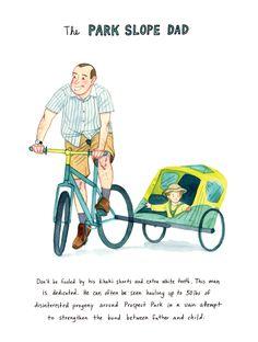 Kurt McRobert   I   The park slope dad NYC Bikers