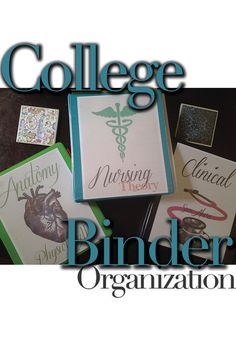Binder organization. Having your binders organized can save a lot of time and help prioritize assignments and learning objectives.