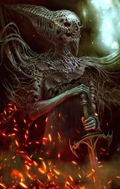 As sombrias e surreais ilustrações de fantasia, ficção e terror de Piotr Ruszkowski