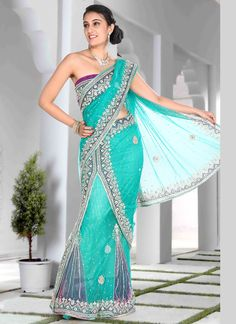 Sarees Online: Shop the latest Indian Sarees at the best price online shopping. From classic to contemporary, daily wear to party wear saree, Cbazaar has saree for every occasion. Lehanga Saree, Lehenga Style Saree, Net Lehenga, Saree Blouse, Latest Indian Saree, Indian Sarees Online, Pakistani Outfits, Indian Outfits, Indian Clothes