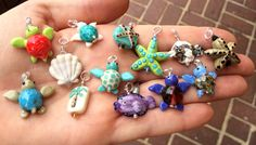 Lampwork minis | | Handmade Glass Lampwork Beads by Lisa Hanna, LH Bead Gallery