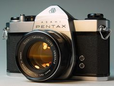 Asahi Pentax - Dad's old camera.  My baby pictures were taken on this.