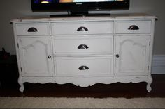 tv stand from the bottom of hutch