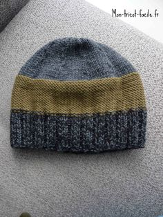 Incredbly bonnet homme tricot – All About Home Decoration Knitting Designs, Knitting Patterns, Newborn Crochet Patterns, Crochet Phone Cases, Knitting Accessories, Knit Beanie, Hats For Men, Crochet Clothes, Baby Knitting