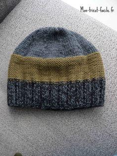 67 meilleures images du tableau bonnets en 2019   Knit caps, Knit ... 9d359f04352