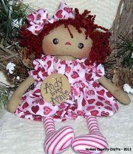 PriMitive Raggedy Ann ~ Valentine Annie ~ Andy Loves Annie!