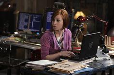 Warehouse 13 TV series, Allison Scagliotti, girl, actress wallpaper