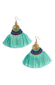 Panacea Tassel Statement Earrings available at #Nordstrom