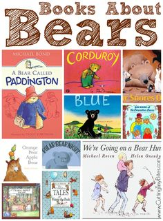 Books about bears. Great collection of books for children about bears. Many classic series, as well as new favorites! Brief reviews of each.