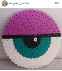 hama beads. Check it out on Instagram