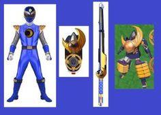 Ninja Storm Indigo Shogun Ranger for Ausmo1 by Greencosmos80